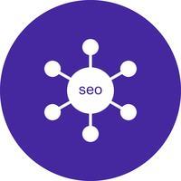 vector seo link icon