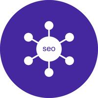 Vektor SEO Link Symbol
