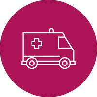 Vector ambulance icon