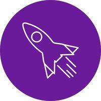Vektor-Rakete-Symbol