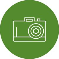 Icono de camara vector