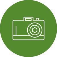 Icona della fotocamera vettoriale