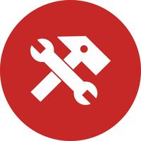 icono de herramientas vectoriales