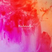 Abstract colorful watercolor background vector
