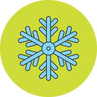 vector sneeuwvlok pictogram