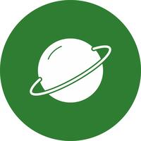 Vektor-Planet-Symbol
