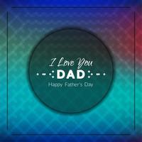 Priorità bassa astratta di festa del papà