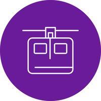 Vector lift pictogram