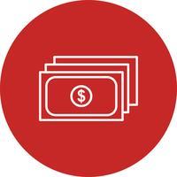 Vektor valuta ikon