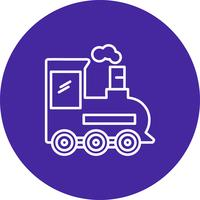Icono de tren de vectores