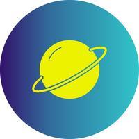 icona del pianeta vettoriale