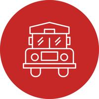 Vector bus icon