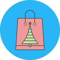 icona di shopping bag vettoriale