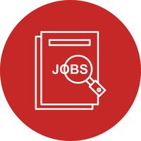 Vector jobs icon