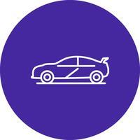 Icône de voiture de vecteur