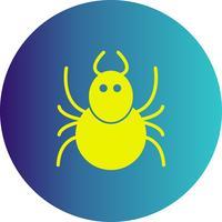 icono de vector de hormiga
