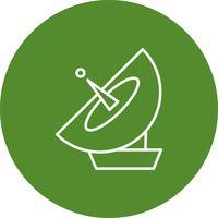 Icona di vettore antena