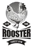 Fighting Rooster Design