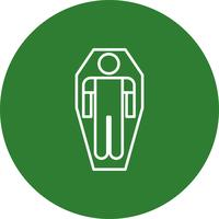 Vektor-Mumie-Symbol