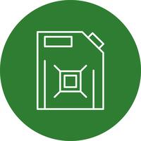 Vektor Kraftstoff kann Symbol