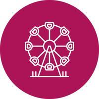 Vector park pictogram