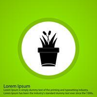 Vektor Pflanze Symbol