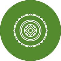 Icona della gomma vettoriale
