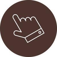 Vector hand icon