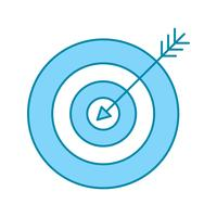 Vektor Zielsymbol