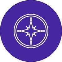 Icona posizione vettoriale