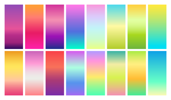Spring And Summer Background Gradients