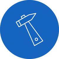 Vector Hammer icon