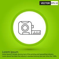 Icona nera perfetta, illustrazione vettoriale o pittogramma su sfondo verde.