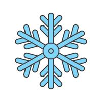 vector snow flake icon