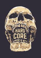 Cráneo de núcleo duro