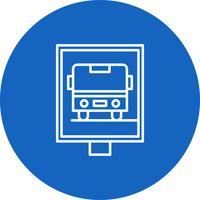 Vector bushalte pictogram