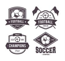 Vector Footballl Emblems