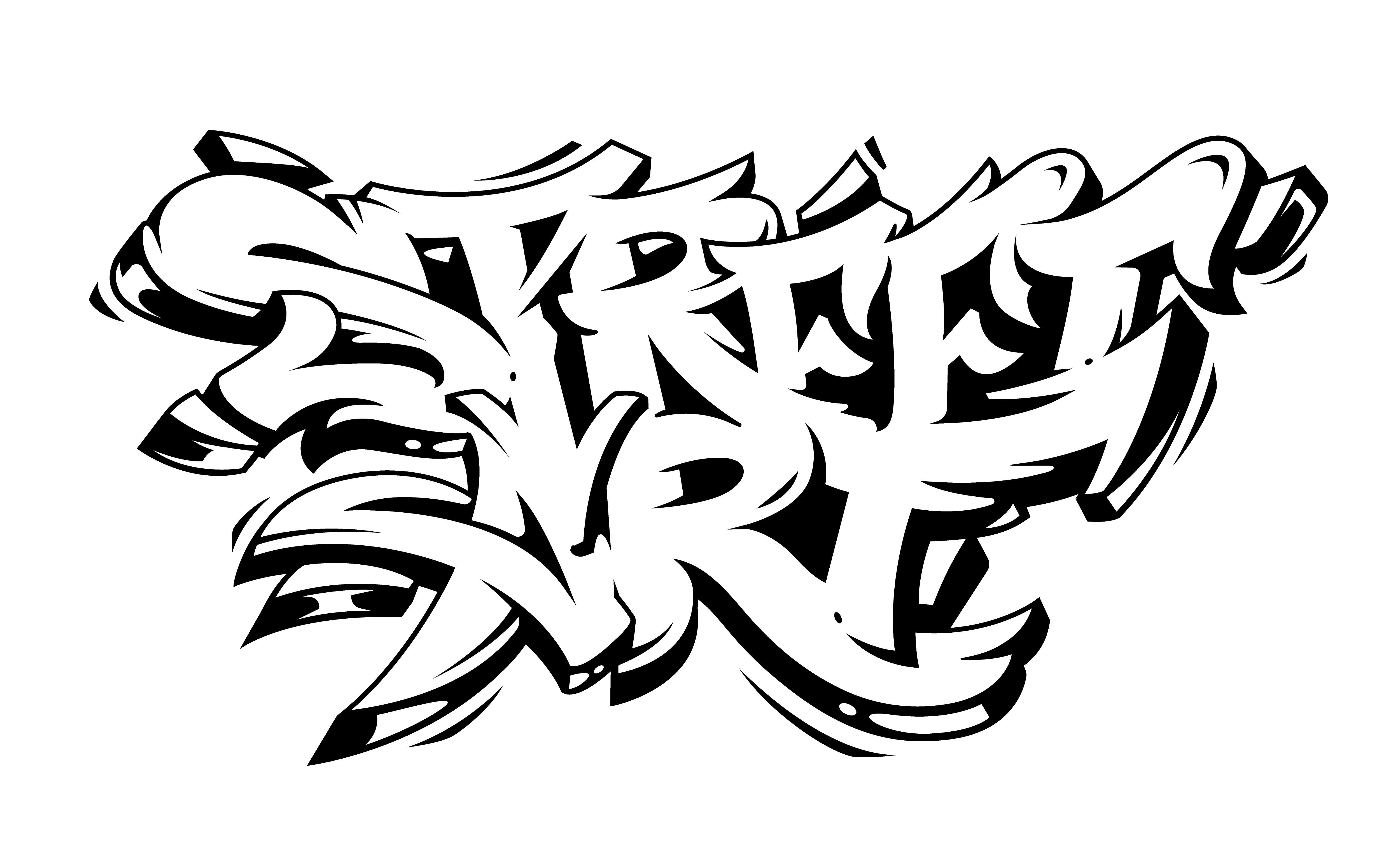 Street art graffiti vector lettering download free vectors