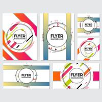 fresh background flyer style background Design Template