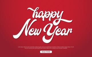 Happy New Year Background Vector background