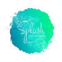 Abstrakt Färgrik Akvarell Splash Bakgrund