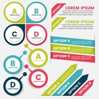 Infographics Design Mall Vector