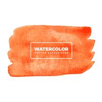Orange Aquarellhintergrund