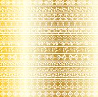 guld utsmyckade gränsmönster
