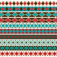 Native American border patterns graphics vector