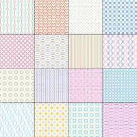 small seamless geometric patterns