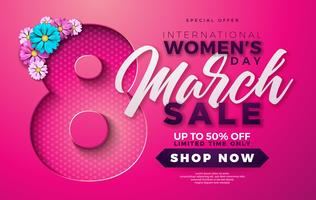 Womens Day Sale Design