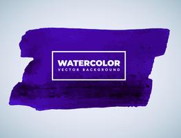 Dark Purple Watercolor Background