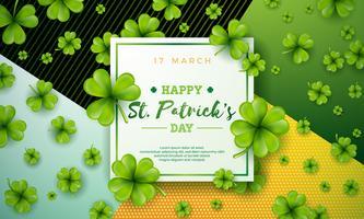 Happy Saint Patrick's Day illustration