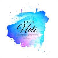 Hermoso festival de primavera indio Holi feliz de fondo de colores